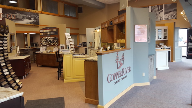 Indiana Cabinet Counter Design Builds Copper River Company